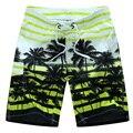 2017 Новый пляж шорты мужчин бренд мужской boardshorts быстрое высыхание шорты бермуды masculinas homme отдых пляжная одежда ленты
