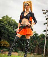 Weibliche Naruto Cosplay Kostüm
