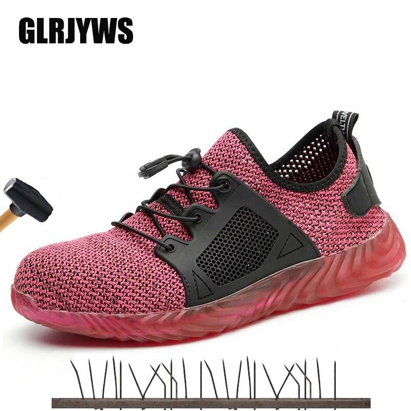 6e3d29370 Dropshipping zapatos de Ryder Indestructible de acero para hombre y mujer  botas de seguridad de aire de punta de acero a prueba de perforaciones  zapatillas ...
