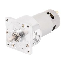 UXCELL DC 24V 100RPM High Torque 8mm Shaft Dia Electric Low Speed Solder Gear Box Motor Hot Sale