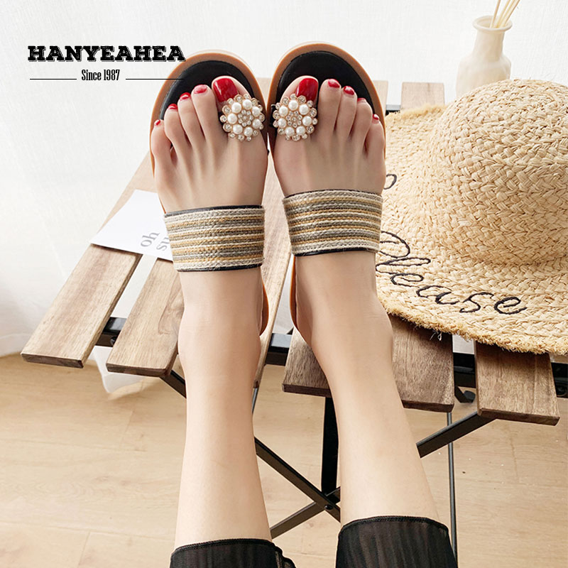 Brand New Womens Summer Shoes Casual Fashion Flat Slippers Classic Fashionable