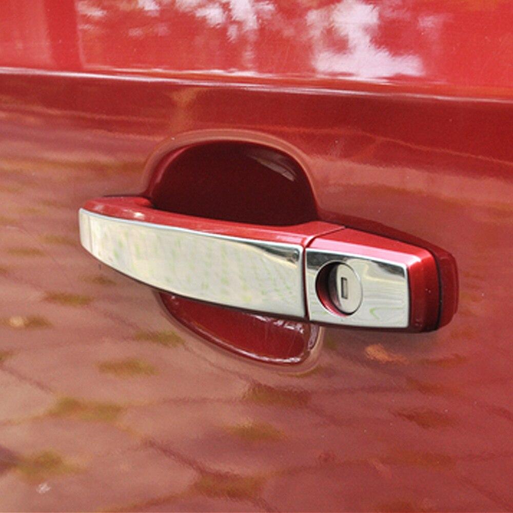 Rear Tail Gate Cover Trim Stainless Steel Strip For Chevrolet Cruze Sedan 09-14