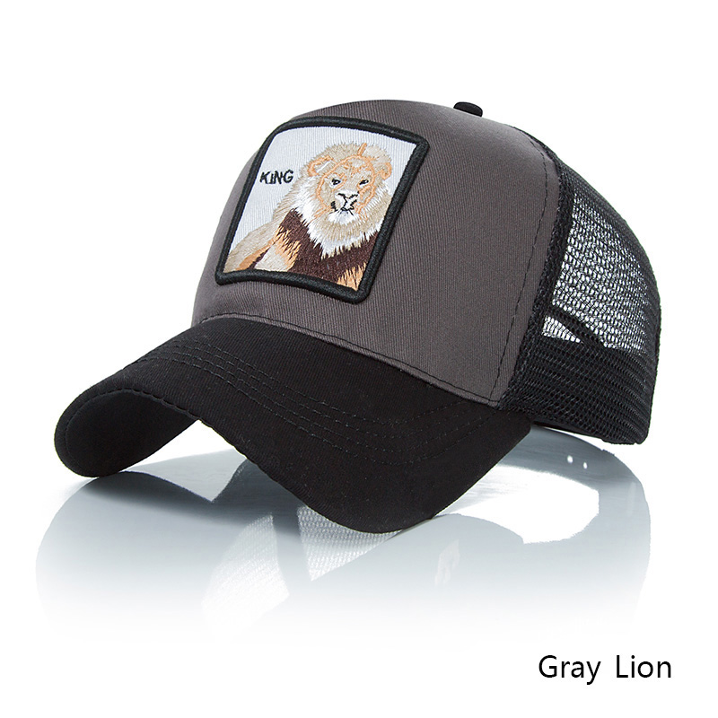gray lion