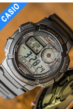 Casio relógio relógio de pulso dos homens