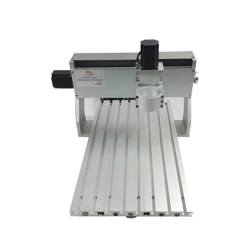 <font><b>6040</b></font> <font><b>CNC</b></font> <font><b>router</b></font> frame of Engraver milling cutting drilling machine with motor image