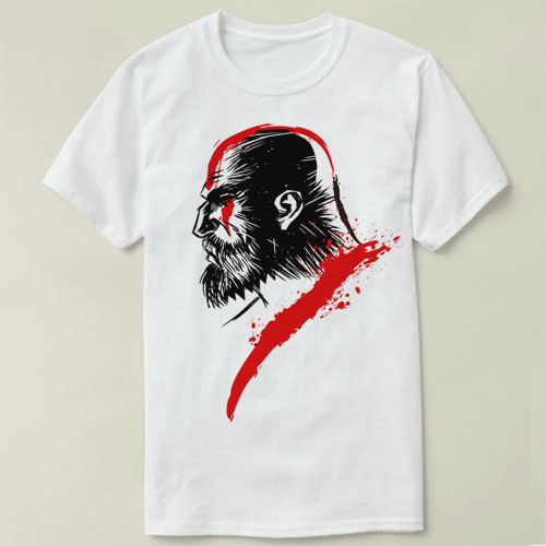 Tattoo Kratos Sparta God Of War Gow Blades Of Chaos Warrior Death And Rage Fashion Classic Unique Giftt Shirt