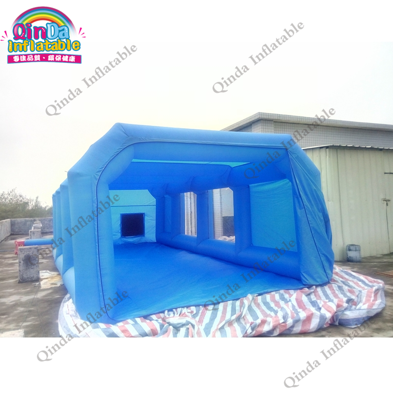 все цены на PVC Spray paint Inflatable spray booth portable spray booth For car painting car tent in good quality онлайн