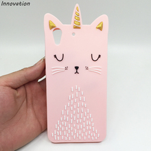 Cute Cat Phone Case For Funda Huawei Y6 II Y6II 2 Soft Back Shell Animal Beard Design Honor 5A Silicone Cover