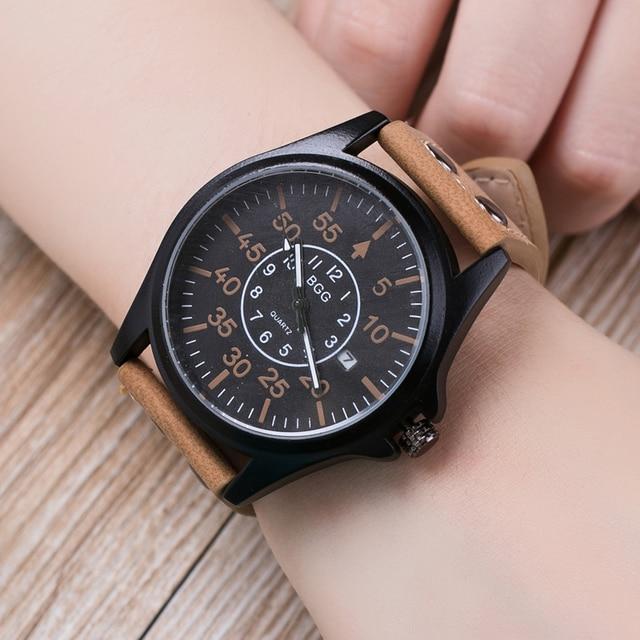 Zegarek męski LIANDU casualowy klasyczny i stonowany idealny do pracy różne kolory