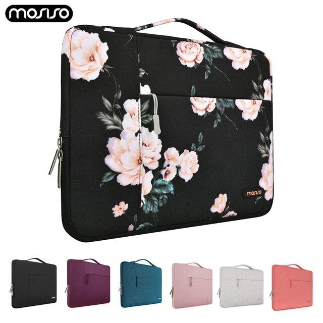 MOSISO 11 12 13 14 15 Polegada Bolsa Para Laptop À Prova D Água Para Os Homens Mulheres Laptop Sleeve Case para 2018 Novo Macbook pro 13.3 15.6 Ba Computador