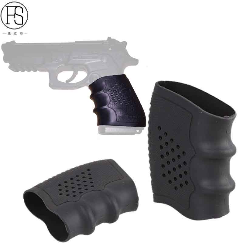 100% High Quality And Brand New Black Tactical Grip Sleeve Holster Pistol Anti Slip Glove Suitable For Most of Glock Handguns image