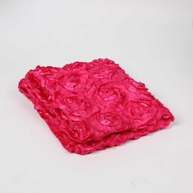 10 cores Do Bebê Fotografia Adereços Foto 3D Rose Flor Cenário Beanbag Tapete Cobertor 3D Subiu Fotografia Pano de Fundo