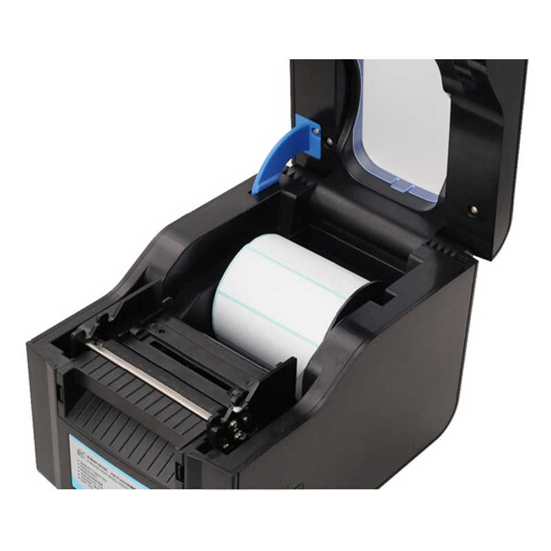 Impresora de código de barras de XP-370B impresora térmica o impresora de etiquetas de 20mm a 80mm impresora de código de barras térmica pelado automático