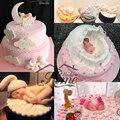 Bebé 3d mold shape silicone soap mold, cake stencil cortadores de galletas decoración de pasteles accesorios de cocina herramientas de la hornada de pasteles