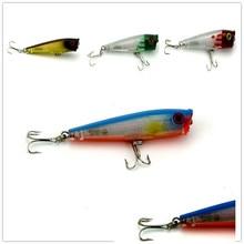 Горячая лазерный Поппер рыболовная приманка 65 мм г/6,6 плавающий Поппер высокое качество Рыболовная Приманка isca искусственные жесткие приманки 20 шт