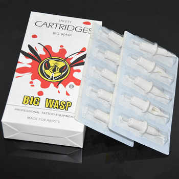 BIGWASP Standard Tattoo Needle Cartridges - Round Liners 1/3/5/7/9/11/13/14/15RL