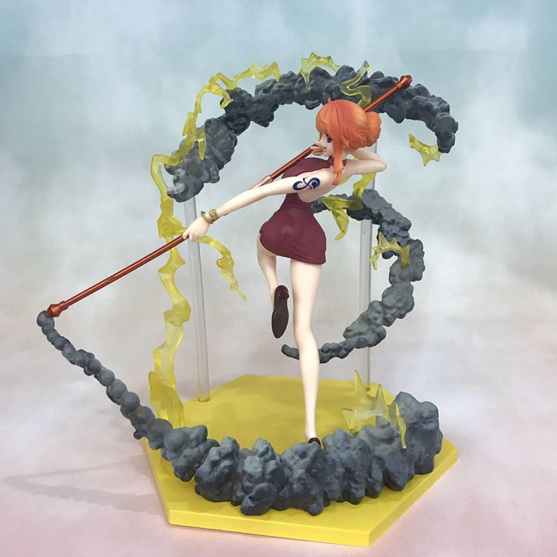 Anime One Piece Fighting Ver. Nami Action Figure 1/8 scale figure Extra Battle Fgiure Toy no retail box (Chinese Version) 3
