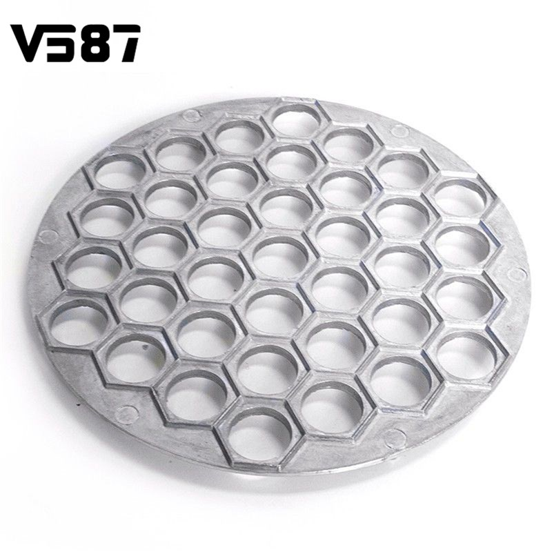 Dumpling Mold 37 Holes Kitchen Pastry Tools DIY Aluminum Alloy Maker Dough Press Ravioli Bakeware Essential