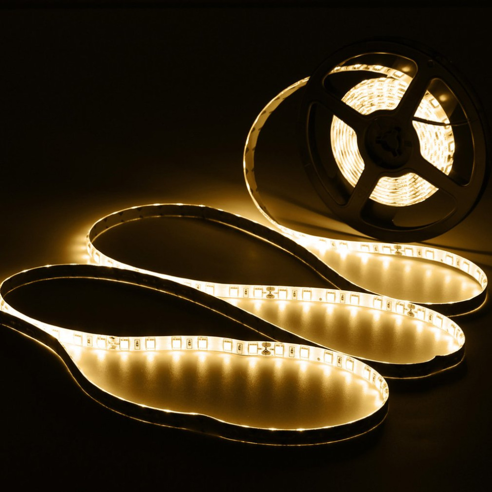 DC 24V 5M Flexible Waterproof LED Strip Lamp LED String Light For Motorhome Boat Car Can ...