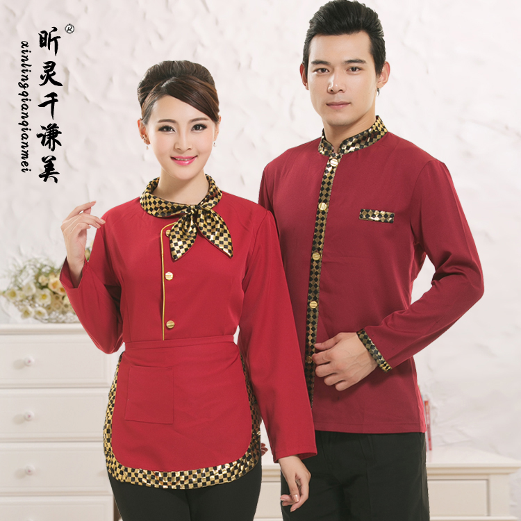Women's Clothing Smart Suit Woman Autumn And Winter New Pattern Cashier Waiter Work Clothes Dress Beauty Salon Jewellery Hotel Reception Work Clothes Suits & Sets