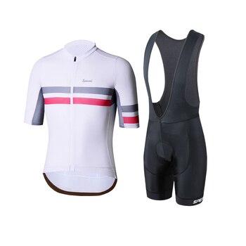 Легкий спортивный костюм SPEXCEL для велоспорта с коротким рукавом и сеткой fabirc Racing fit, комплект для велоспорта, летние быстросохнущие велосипе...