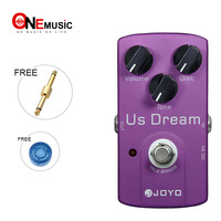 JOYO JF 34 US Dream AMP Distortion Simulation True Bypass Pedal with 1 Pedal Connector and MOOER Pedal Knob