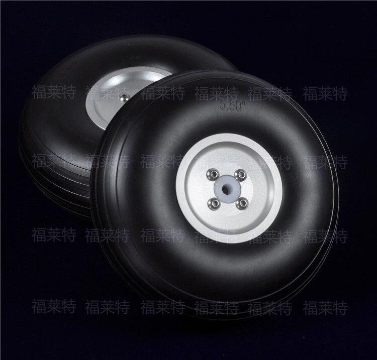 1 par sky-fly rc modelo rodas do plutônio com cubo de alumínio multi-tamanho 1