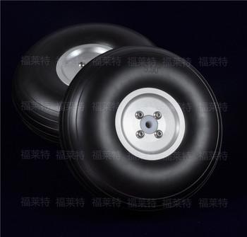 1 para Sky-Fly model rc koła poliuretanowe z piasta aluminiowa multi-size 1 #8222 do 8 5 #8221 tanie i dobre opinie Pojazdów i zabawki zdalnie sterowane Podwozie Opony FLIGHT-MODEL COM