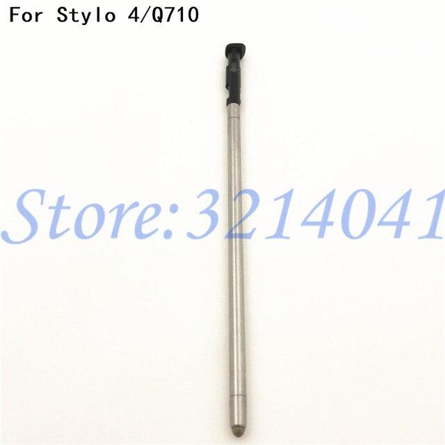 De boa qualidade Original Tela Sensível Ao Toque da Caneta Stylus Para LG Q Stylo 4 Stylo4 Q710 Q710MS Q710CS toque caneta Preta/ prata/Azul/Ouro