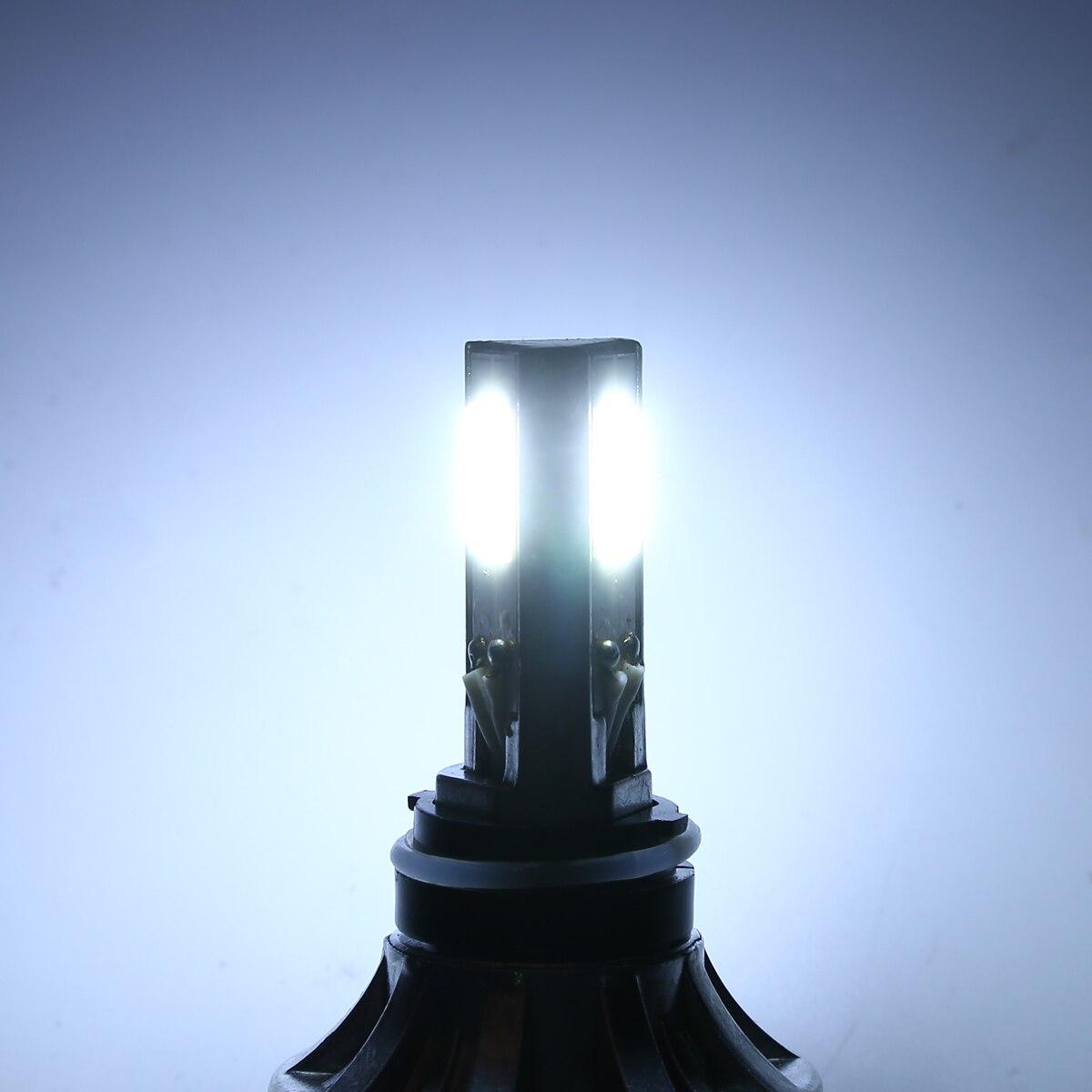 Treyues 1 Set H4 BA20D Hi/Lo 40W/26W Beam Motorcycle Headlight 6500K LED High Quality Front Lamp Bulb