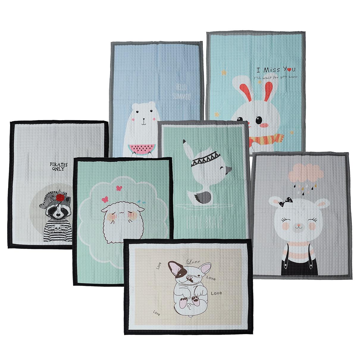 140X195cm bébé tapis de jeu enfants tapis universel lavable tapis pour salon anti-dérapant chambre tapis de jeu
