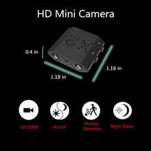 Camsoy Mini Motion Detection Camera Infrared Full HD 1080P Night Vision Surveillance DVR Video Camcorder Micro Security DV Cam mini camera portable security camera motion detection video surveillance camcorder ir night vision loop recording