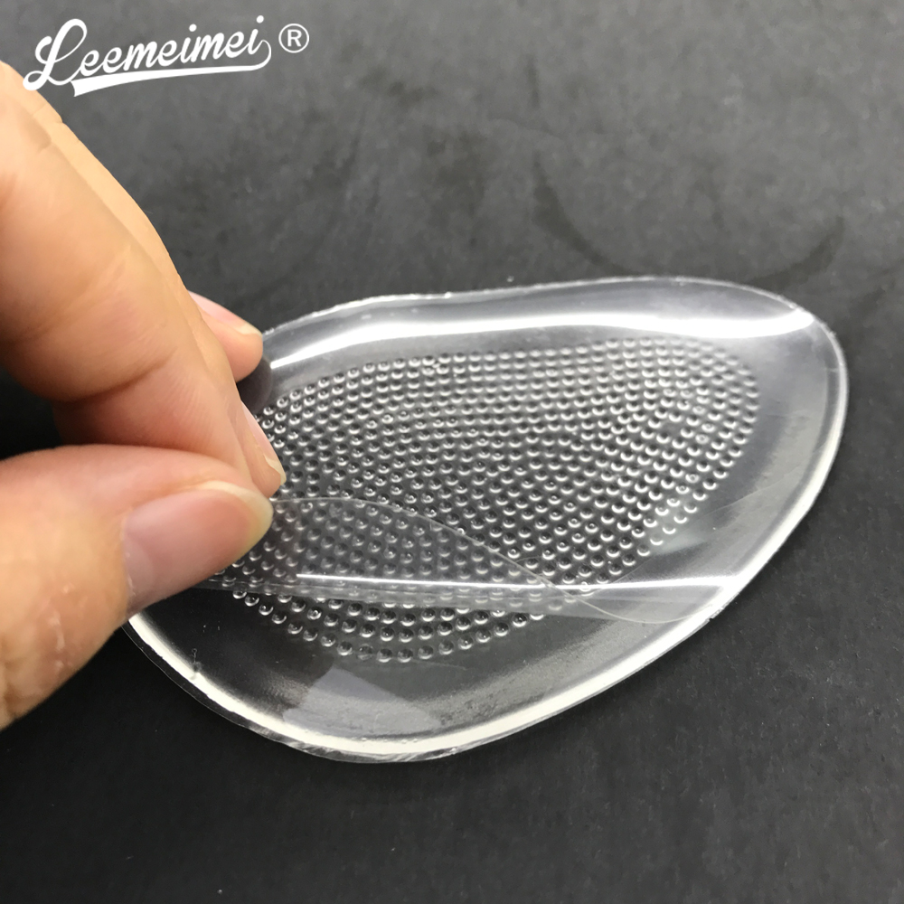 1 Pair Heel Insoles Shoe Accessories Inserts Shoes Massage Cushion Silicone Gel Inserts Pads Massager Protetor De Calcanhar