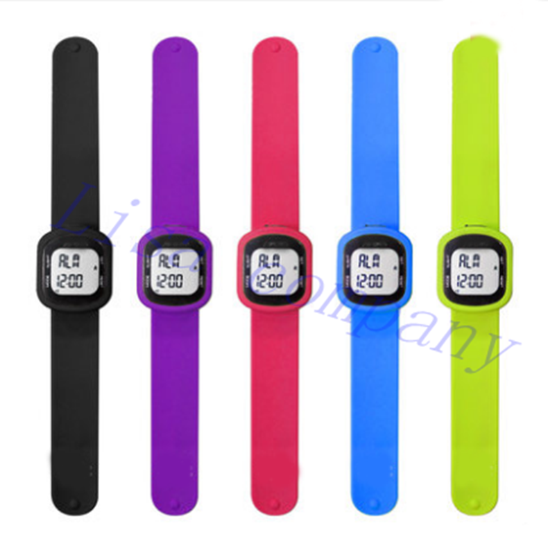 Walking distance walking number calories measurement pedometer bracelet watch sport watch pedometer genuine 3D electronic watch