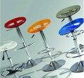 Оптовая рекомендуем новая мода простые акриловые барный стул высокий стул ноги ресторан рейф стул стул
