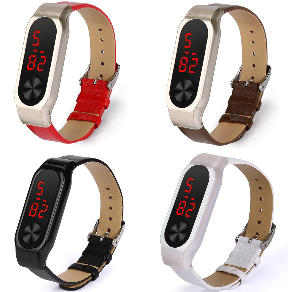New Fashion Business Leather Replacemet WristBand Strap Bracelet Metal Buckle For XIAOMI MI Band 2drop ship Jul29 M30