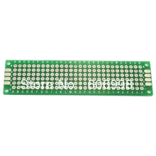 100pcs/2*8cm Double Side Prototype Copper PCB Board Universal Printed Circuit Board Protoboard For Arduino DIY