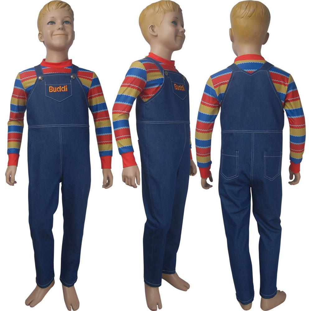 Child's Play (2019 film) cosplay Chucky Halloween costume AI theme high-tech doll comic-con anime fancy dress