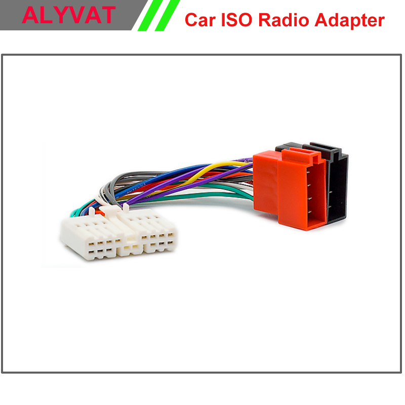 Car Iso Radio Adapter Connector For Honda All Models 1995