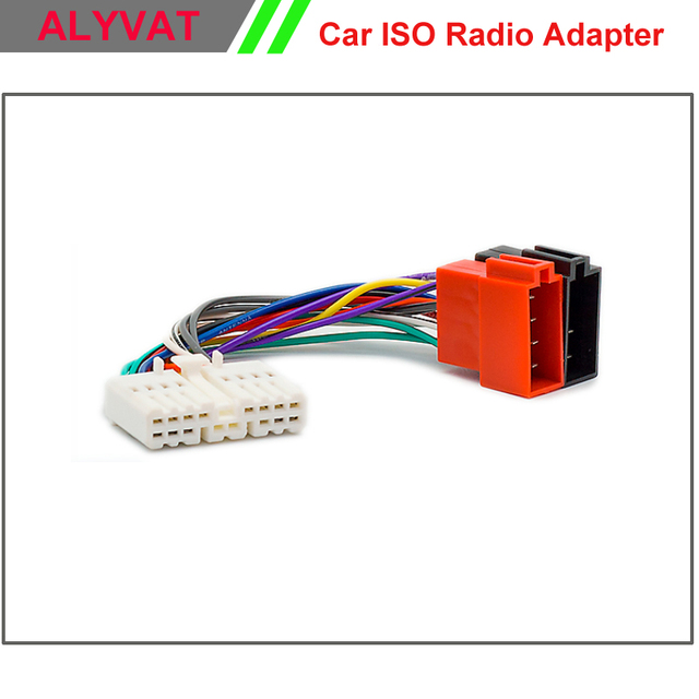Car ISO Radio Adapter Connector For Honda All Models 1995 1998 ...