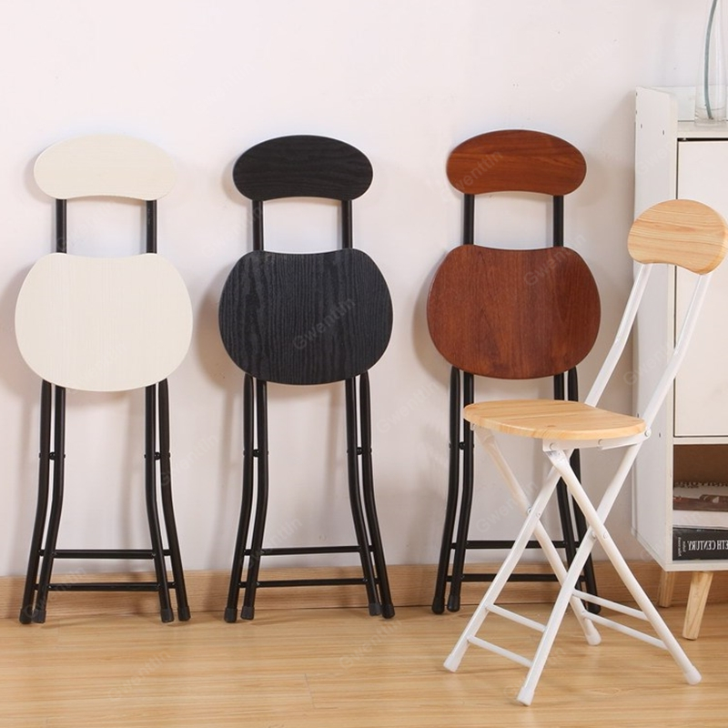 Fabulous Nordic Foldable Iron Dining Chairs Nordic Office Computer Dailytribune Chair Design For Home Dailytribuneorg