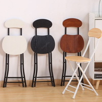 Nordic Foldable Iron Dining Chairs Nordic Office Computer Metal Chair Minimalist Modern Bar Stool Living Room Kids Furniture