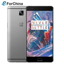 OnePlus 3 64 ГБ Сети 4 Г 5.5 дюймов Display1920 * 1080 pixes Android 6.0 Камера 16.0MP 820 QuadCore ОПЕРАТИВНАЯ ПАМЯТЬ 6 ГБ Батареи 3000 мАч NFC(China (Mainland))