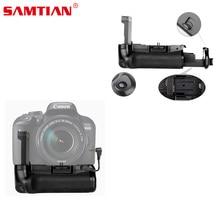SAMTIAN Latest Battery Grip BG-1X 130x80x105mm For Canon EOS 800D/Insurgent T7i/77D/Kiss X9i Digital camera