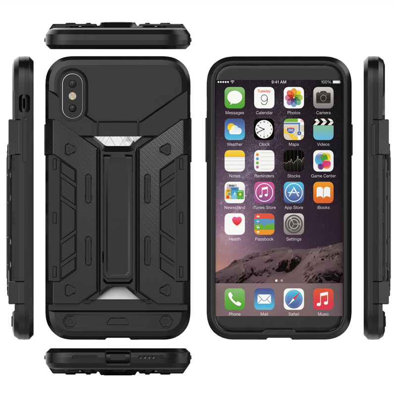 Luxury Shock Proof Hybrid Armor Phone Case for Apple