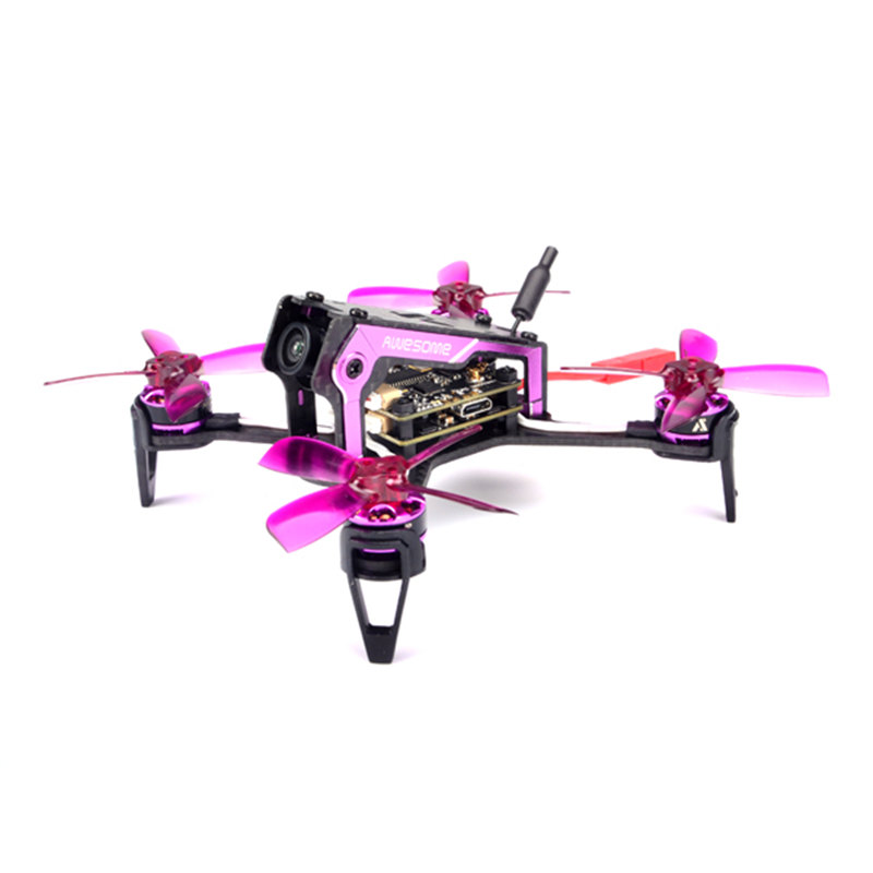 Original AWESOME MINI F100 100MM RC Quadcopter ARF FPV With Omnibus F3 OSD 5.8G 25mW Blheli_S 10A 600TVL Camera Drone Mini