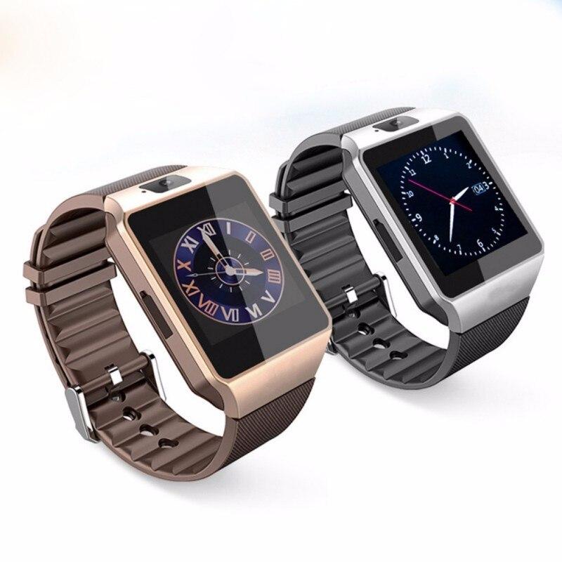 10 unids envío libre original smart watch dz09 con cámara tarjeta sim reloj de p