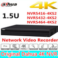 Original DaHua 16/32/64 Channel 1.5U 4K Network Video Recorder NVR5416-4KS2 NVR5432-4KS2 NVR5464-4KS2,free Shipping.