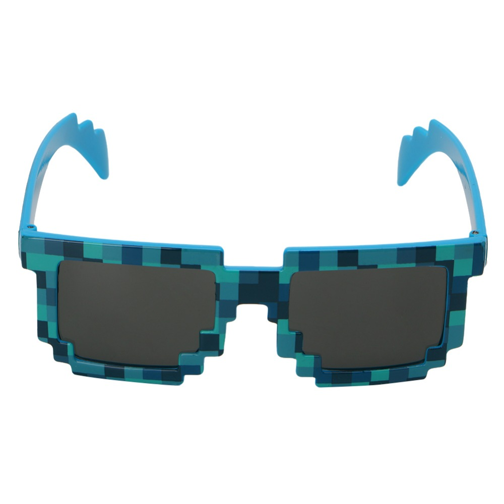 Sports & Entertainment Novelty Pixel Mosaic Glasses Sunglasses Party Cosplay Photo Prop Toy Unisex Complete In Specifications