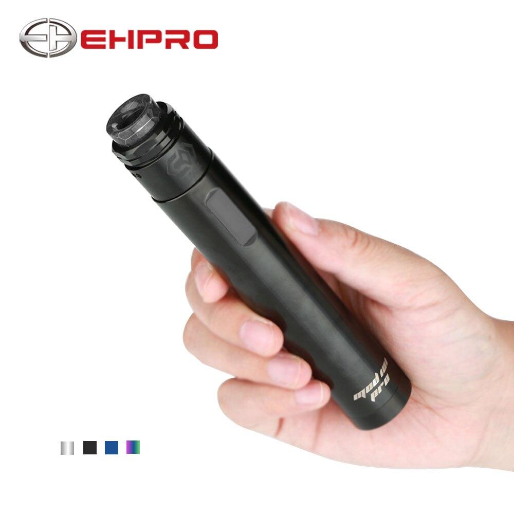 D'origine 75 W Ehpro 101 Pro Vaporisateur Kit Stylo-style TC Kit avec Ehpro 101 Pro Mécanique Mod Froggy BF Rda Kit E Cigarette MOD 101